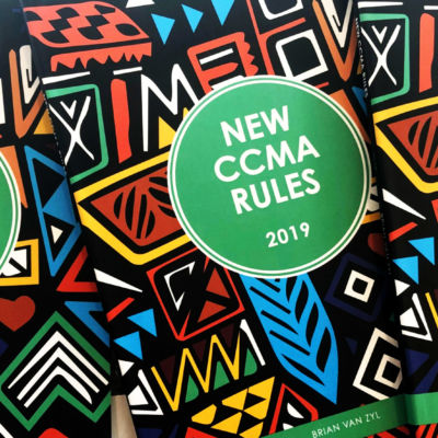 CCMA Rules Including Rules of Various Courts